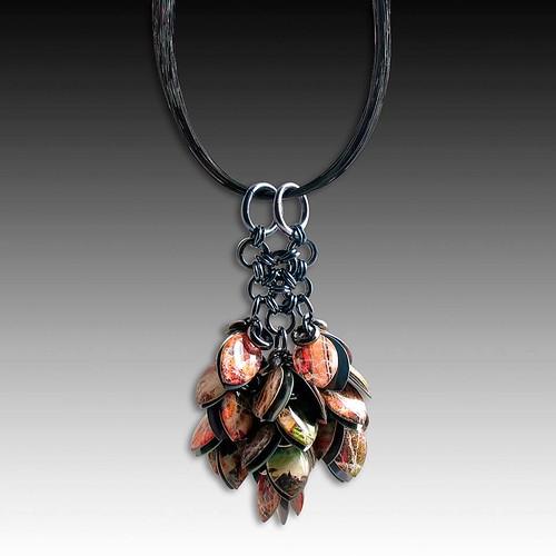 Diana Ferguson Paper Pendant Necklace