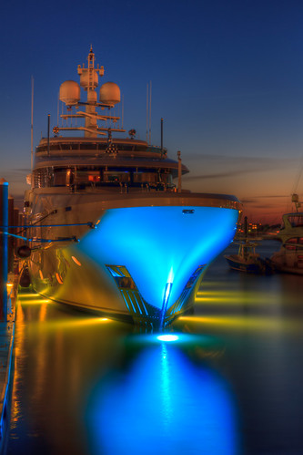 Yacht in Newport at Night - Mike Dooley | by mike_dooley