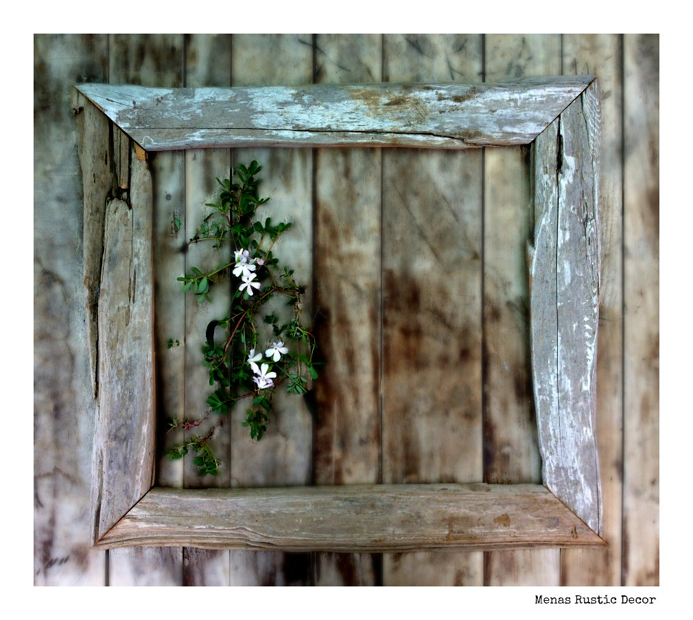 Beach Wood Frame | Menas Rustic Decor & Country Living | Flickr