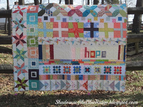 Faith Circle Row Quilt | by Blue.Ridge.Girl
