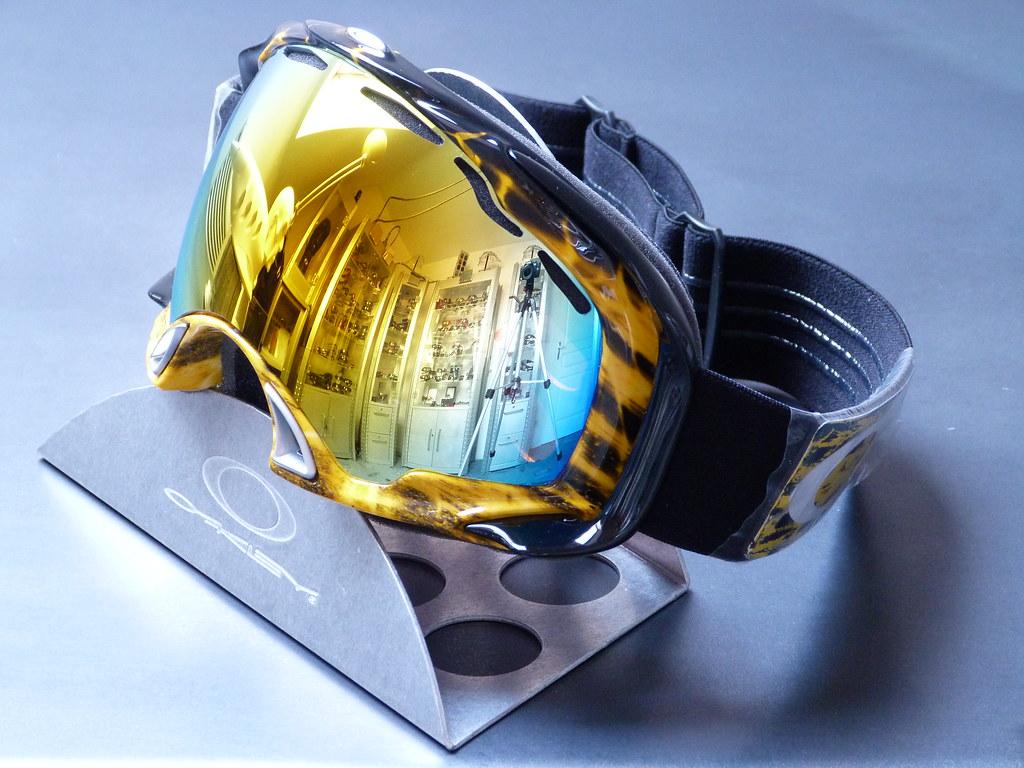 da9fc11904 ... Oakley Splice® Snow Amp d Orange w Fire Iridium