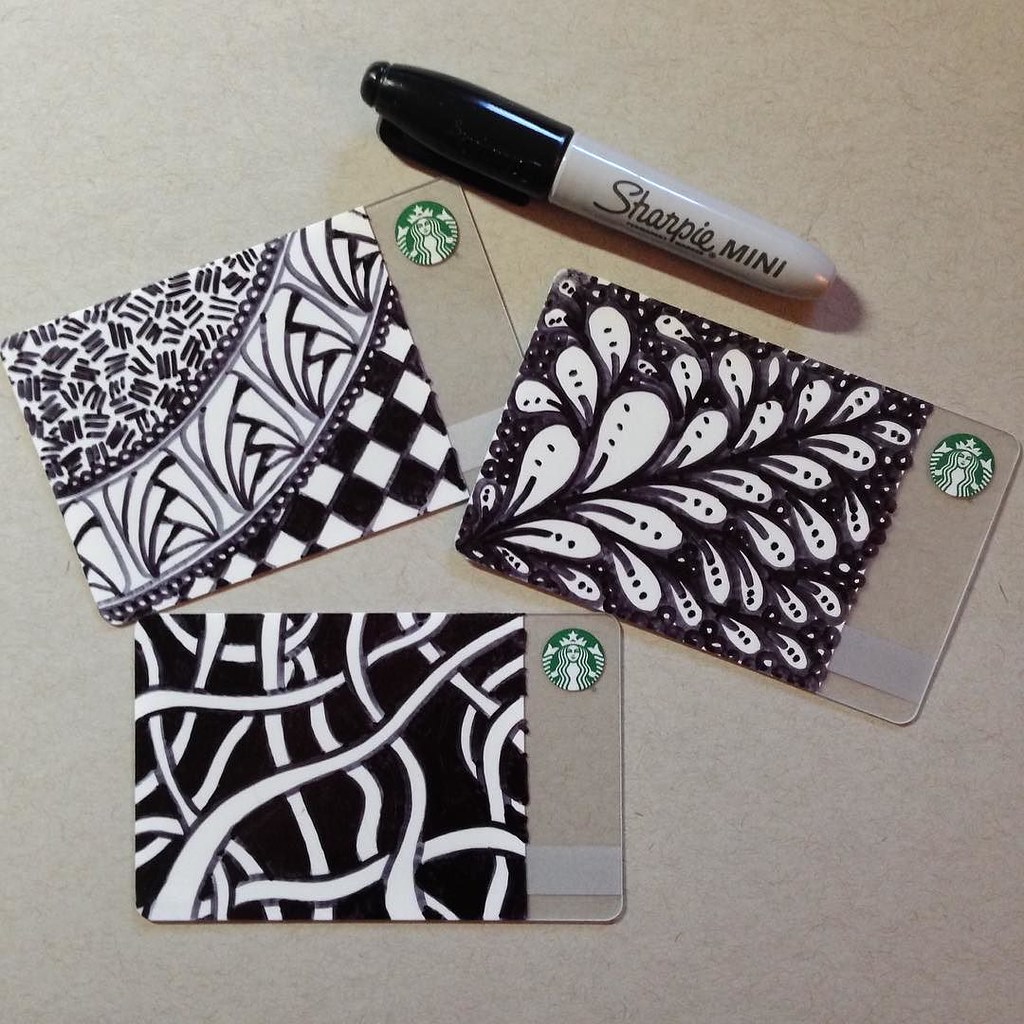 Why Yes I Did Buy Some Create Your Own Starbucks Cards A Flickr