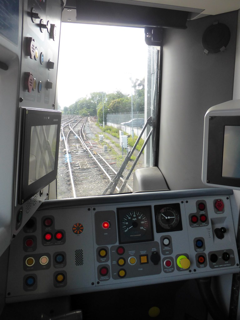 ... Class 387 Electrostar cab control layout | by train_photos