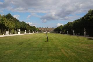 154 Kasteel van Versailles tuinen