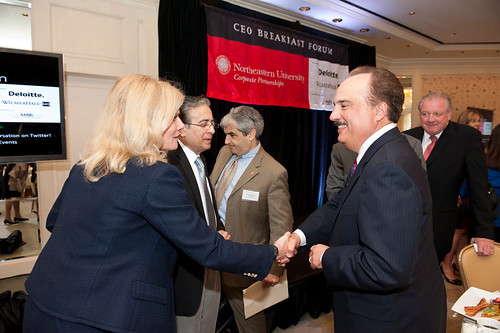 ceo breakfast forum with larry merlo  ceo of cvs caremark
