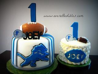 Detroit Lions Cake Pan