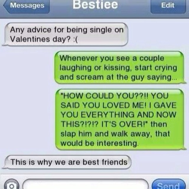 friends iphone text quotes messages funny truth - Valentines Day Text Messages For Him