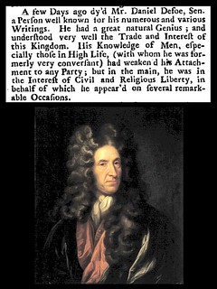 24th April 1731 - Death of Daniel Defoe | by Bradford Timeline