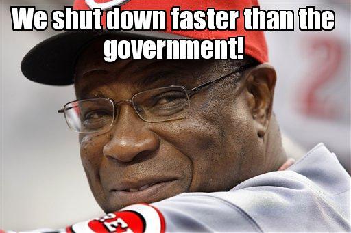 Cincinnati Reds Shut Down Www Slapcaption Com Cincinnati R Flickr