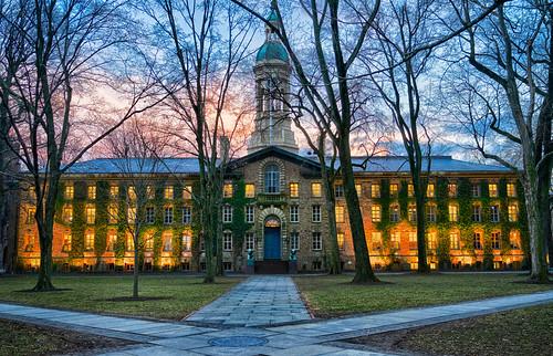 Princeton University at Dusk