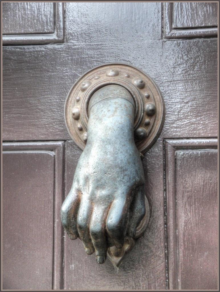 Beautiful ... Unusual Door Knocker, Wilkes Street, London | By Robin Denton