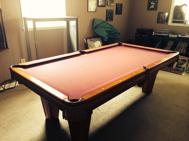 Brunswick Brookstone Pool Table Flickr - Brunswick brookstone pool table