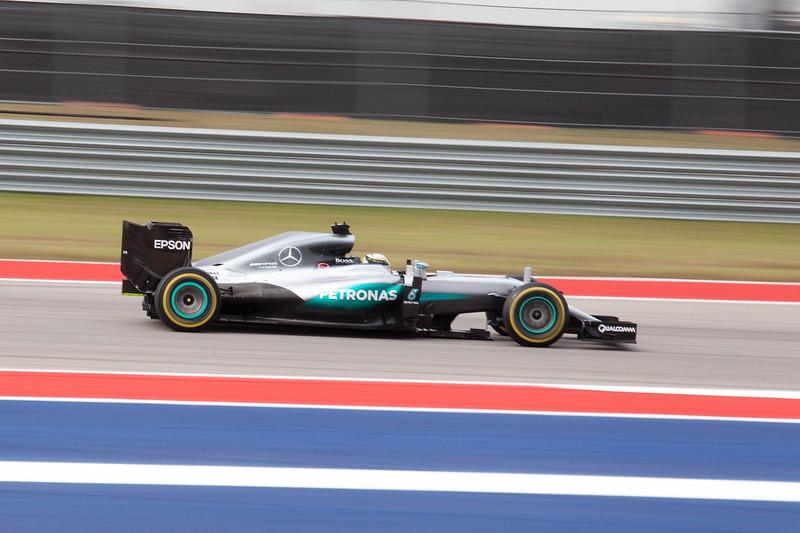Hamilton speeds past