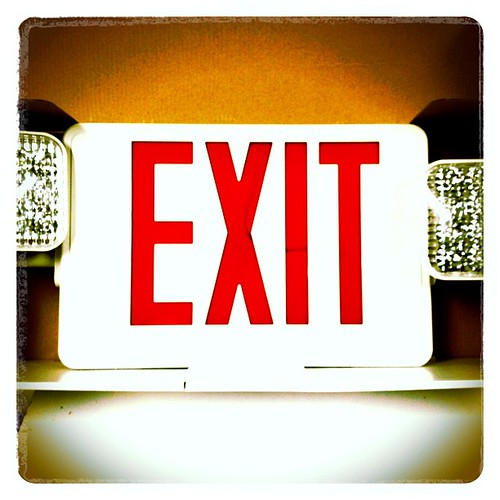 """""""Exit Sign/Emergency Light Combo"""""""