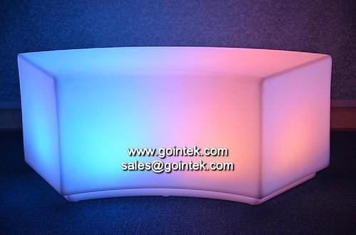 Elegante sof de la luz del club asientos muebles for Muebles encantadores del pais elegante