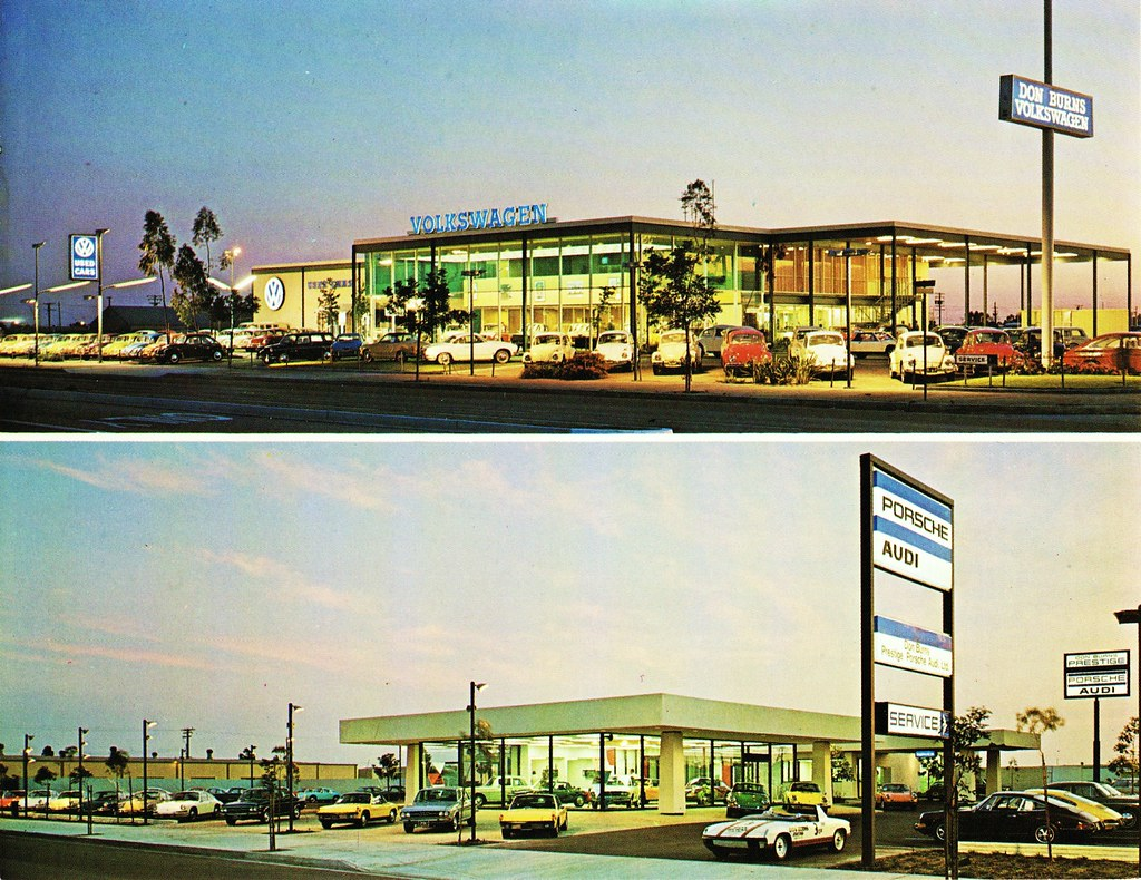 Don Burns Volkswagen & Porsche/Audi, Garden Grove CA | Flickr
