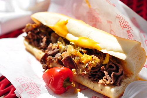 Pat's King of Steaks Philly Cheesesteak | by kimberlykv