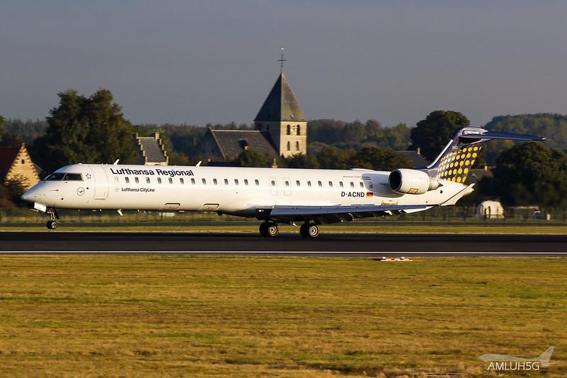 Lufthansa Cityline - CRJ9 - D-ACND (1)