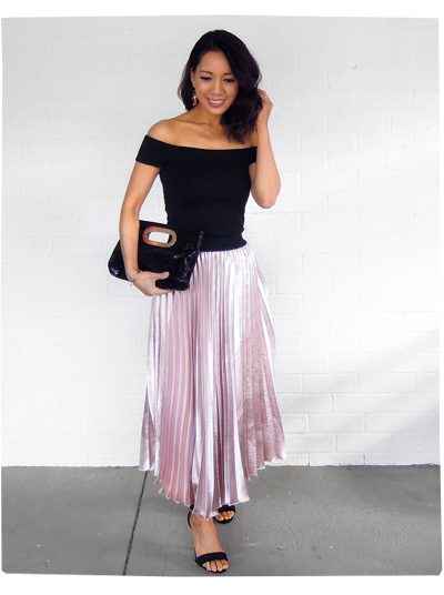 Hello Parry Pleated Skirt
