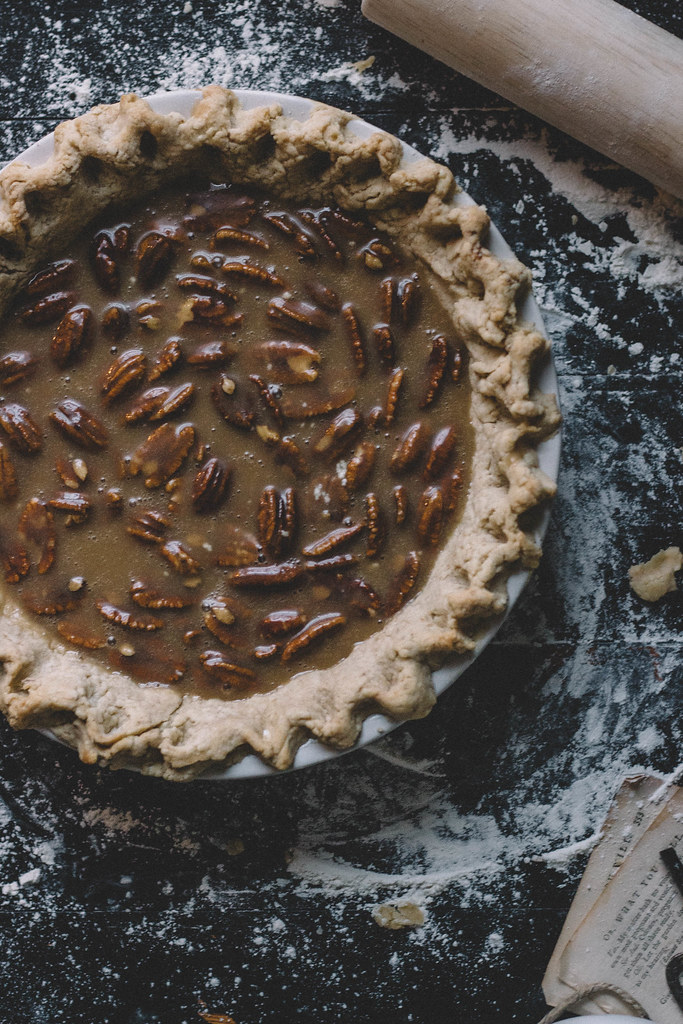 Vegan Cold Brew Coffee Pecan Pie | TermiNatetor Kitchen