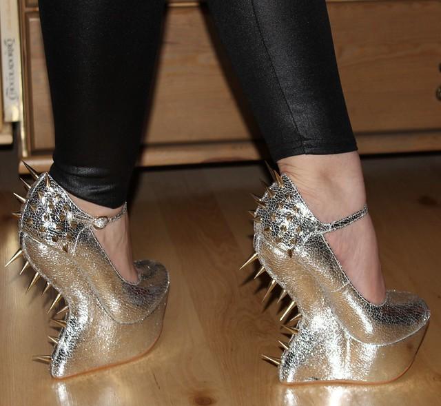dangerous extreme heels