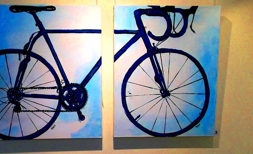 Mclaren Vale Visitor centre Artwork #leshaines #cycling
