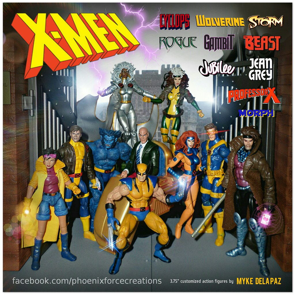 x men the animated series 90s 3 75 inch custom action fi flickr
