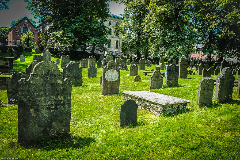 Old Burial Ground, Halifax,Nova Scotia