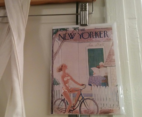 the new yorker cover, august 1955 as a greeting card y grocery bag decoration :) | by meligrosa