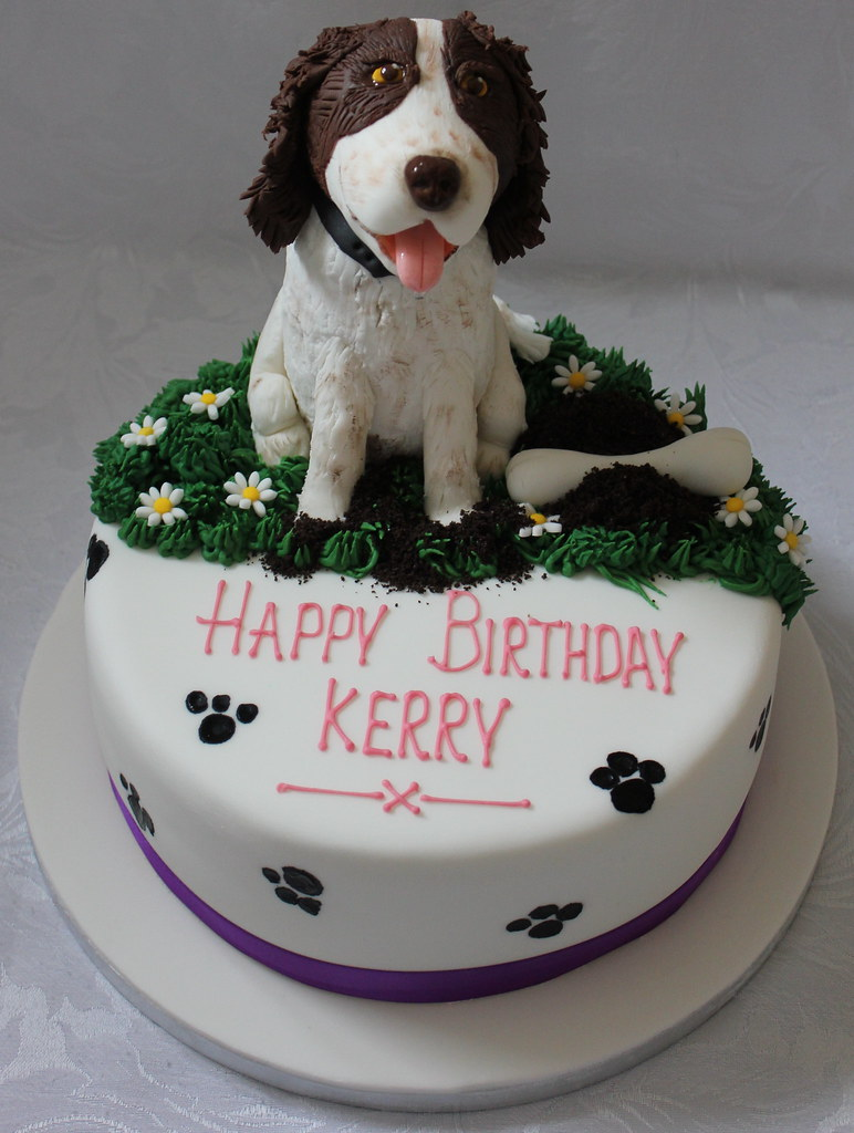 By Pauls Creative Cakes Pet Dog Birthday Cake
