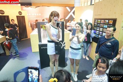 20161008 SONY手機展售會