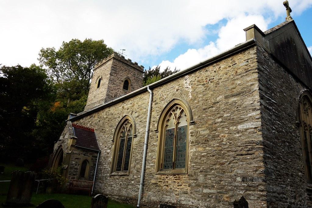St Ffraid's Church, Glyn Ceiriog, Wales