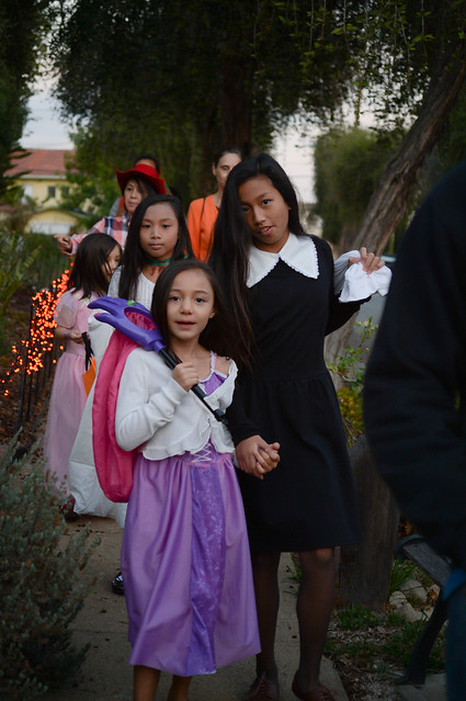 trick-or-treating on beech street