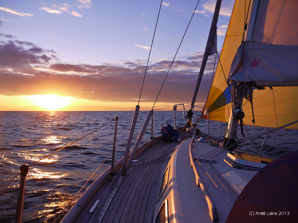Sailing sunset hd Wallpapers | Pictures