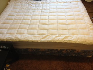 Queen Size Mattress with Box Spring and Cuddle Bed Pillow