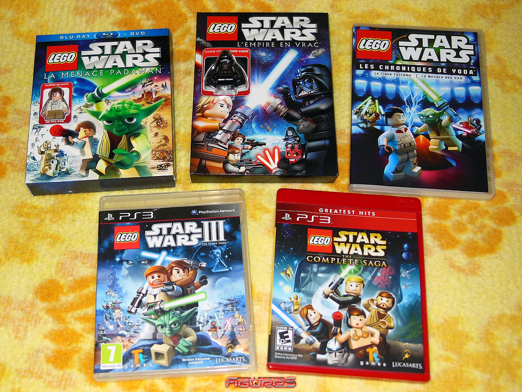 New Lego Games For Ps3 : Lego star wars blu ray dvd vidéo game ps lego star wars cu flickr