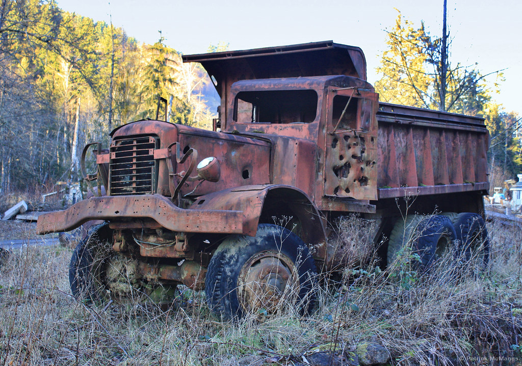 Rusty Dump Truck - Washington State | Patrick McManus | Flickr