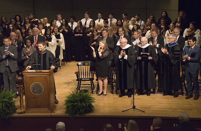 Presidential Inauguration of Burton J. Webb, Ph.D.