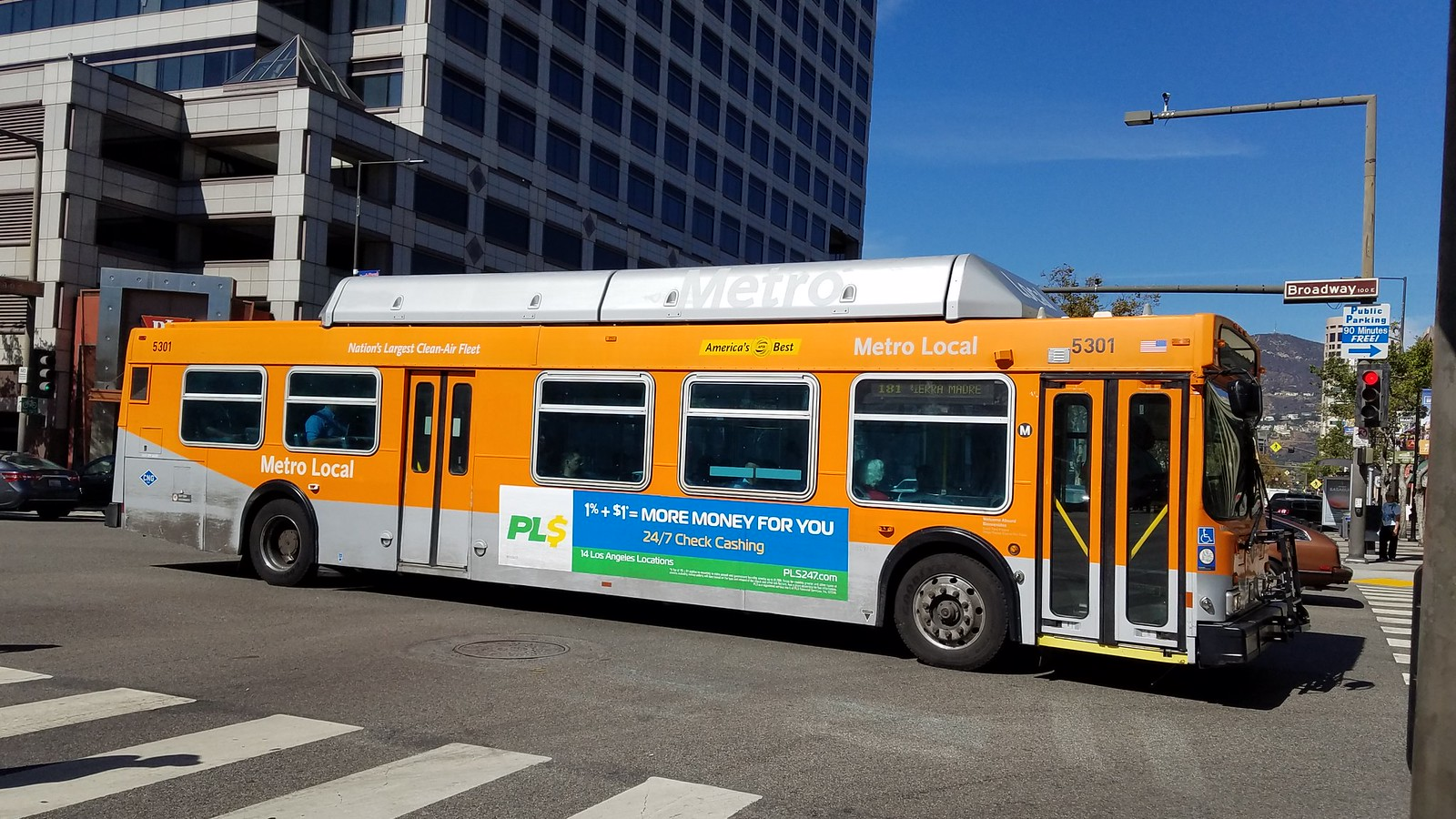 lacmta new flyer c40lf 5300 5522 flickr