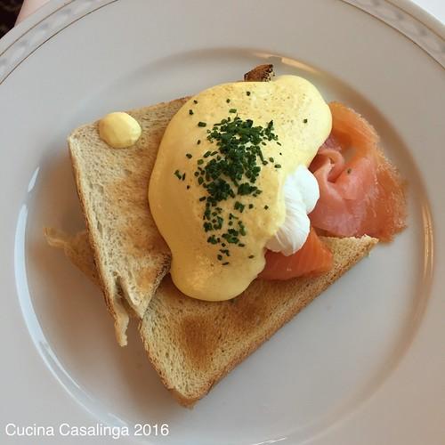 Schloss Fuschl - Frühstück Ei Benedikt