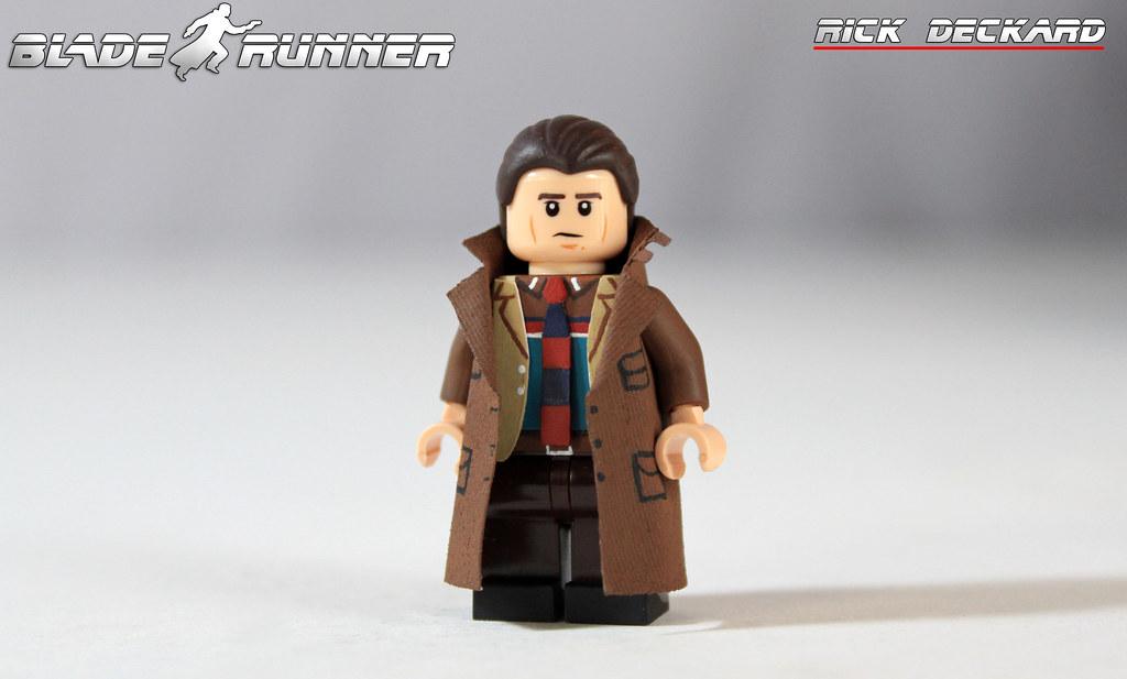 """Custom LEGO Blade Runner: Rick Deckard   """"Replicants are lik…   Flickr"""