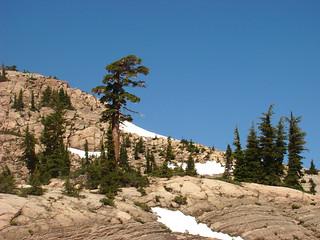 026 Bij parkeerplaats Lassen Peak Trail