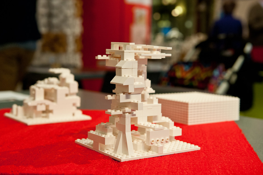 A Students LEGO Architecture Studio Kit Project
