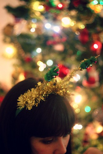 Festive headband | by What Olivia Did