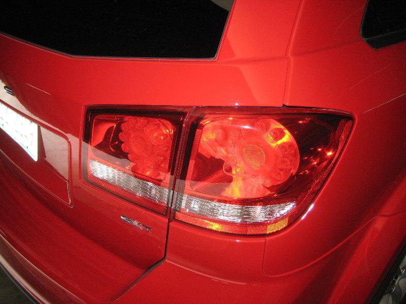 ... 2013 Dodge Journey Tail Light   LED Brake Lights   Replacing Rear Turn  Signal U0026 Reverse