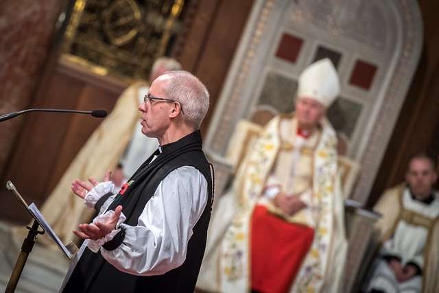 Vespers with closing of Door of Mercy - Preacher, Archbishop Justin Welby