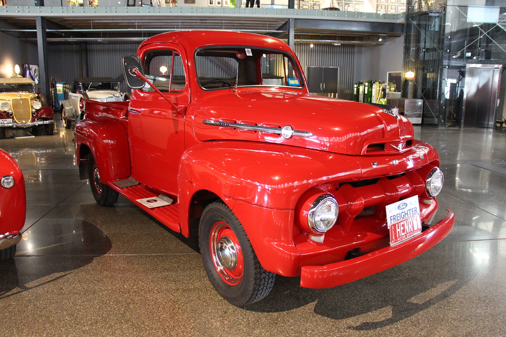 Five Star Cab >> 1952 Ford F 1 Five Star Cab Pickup Ford Had Been Producing Flickr