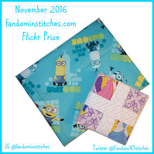 Fandom in Stitches November 2016 Prize