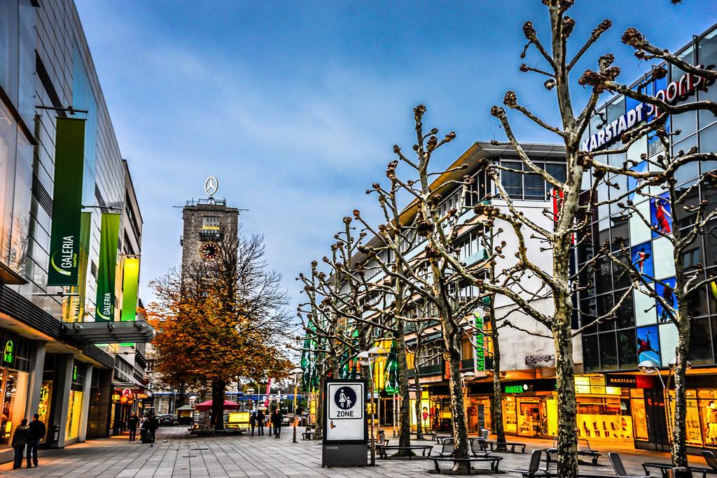 Knigstrae Pedestrian Shopping Street Stuttgart Germany Flickr