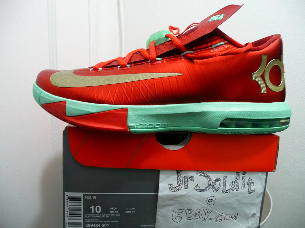 Nike KD VI 6 Christmas ; Size 10 | debrok | Flickr